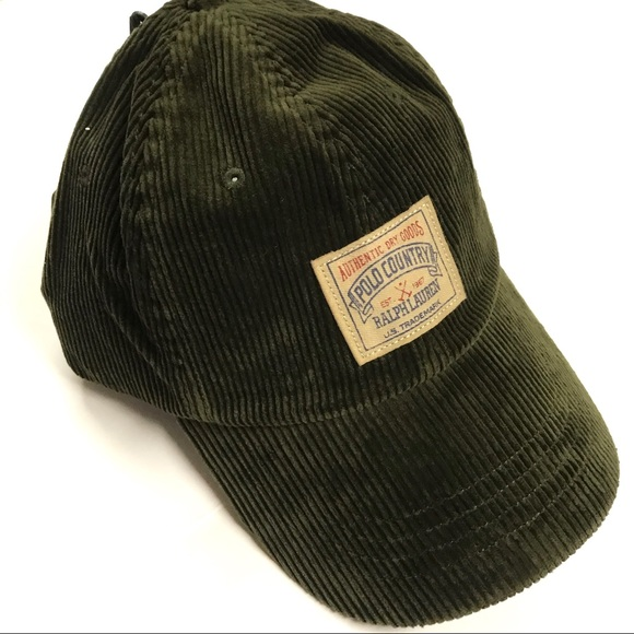 NWT - Ralph Lauren POLO Corduroy Hat fb178271c08